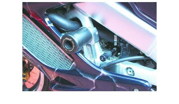 Satz GSG Moto Sturzpads Hinterrad passend f/ür die Honda VTR 1000 Fire Storm SC36 97-06