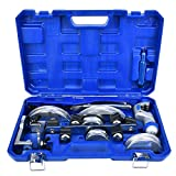 Kit piegatubi, CT-999RF Lega manuale di tubi in alluminio Curvatubi Curvatubi Curvatubi HandTool 3/8 1/2 5/8 3/4 7/8 Pollici con custodia