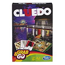 Hasbro Gaming Cluedo Grab & Go Game