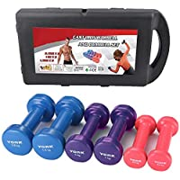 York Dumbbells 6Kg Viny Coverd Set