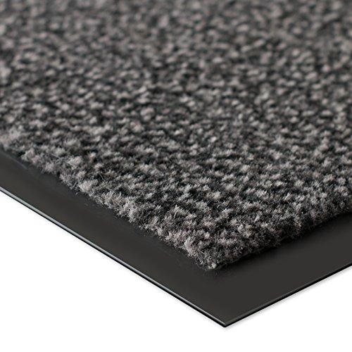 etm® Schmutzfangmatte – Note 1,6: Sieger Preis-Leistung – Fußmatte in vielen Größen – Fußabstreifer für Haustür innen und außen (Anthrazit-Schwarz, 60×90 cm) - 2