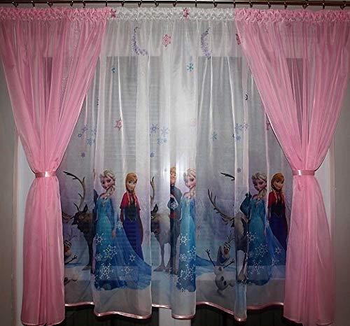 Gardinen MINNIE MOUSE IN PINK Teil 150B x 150L Kinderzimmer Vorhang DISNEY
