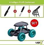 UPP Products Gartenwagen / Rollsitz / Gartenhelfer / Rollwagen