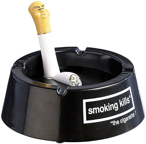infactory Zigaretten-Ascher: Fluppy - der hustende Aschenbecher (Ashtray)