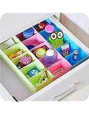 Angel Bear Socks Undergarments Storage Drawer Organiser Set of 4, (Colour May Vary)