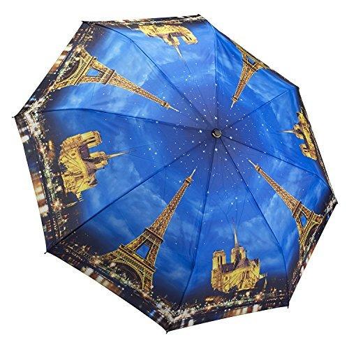 Galleria paris-city der Lichter Faltbarer Regenschirm