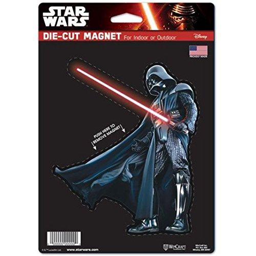 Wincraft Disney Star Wars Darth Vader 15,2x 22,9cm gestanzt Magnet Snack-Schale (Souvenir Disney)