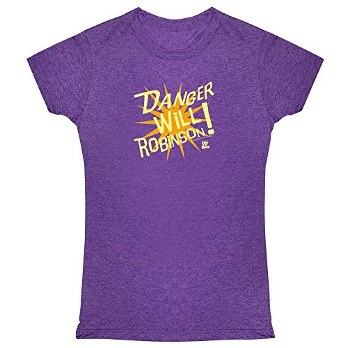 Pop Threads Danger Will Robinson! Lost In Space Womens Tee Shirt by