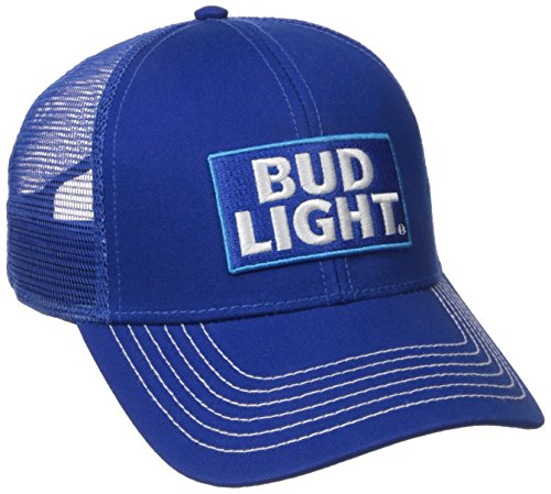bud-light-twill-mesh-snapback-gorra