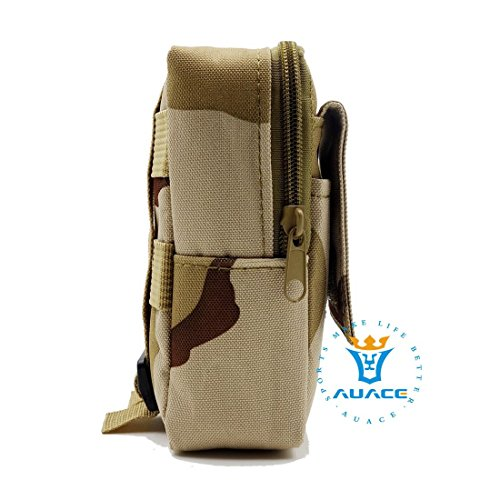 Multifunktions Survival Gear Tactical Beutel MOLLE Tasche Military erkunden Taille Pack, Outdoor Camping Tragbare Travel Bags Handtaschen Werkzeug Taschen Taille Tasche Handytasche DCU