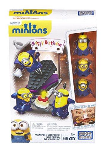 Minions - Juego de construcción, fiesta sorpresa del vampiro (Mattel CNF55)