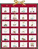 Zettelkalender - Weihnachtspost für dich!: Durch den Advent mit Ringelnatz, Rilke, Morgenstern & Goethe