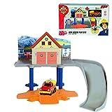 Feuerwehrmann Sam - Mini Die Cast Serie - Mini Spiel Set Rescue Feuerwehrstation