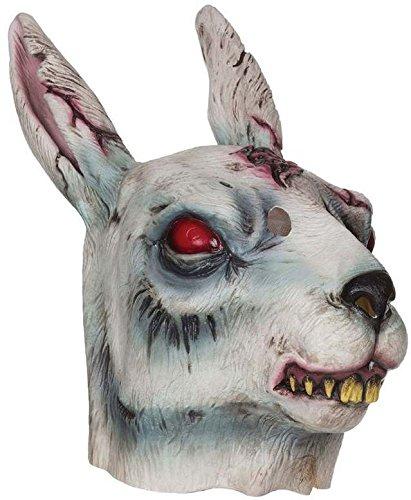 Bristol Novelty bm478Zombie Kaninchen Maske, eine Größe