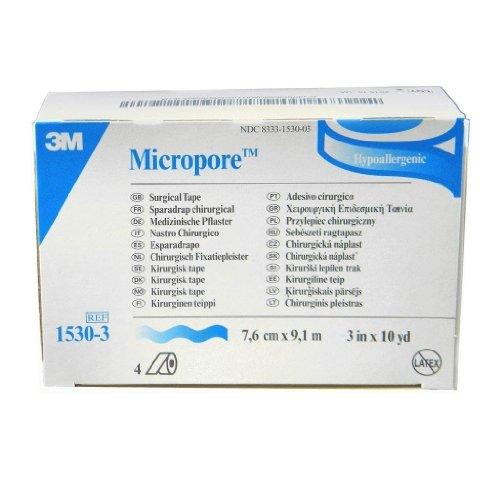 10 Yd Erste Hilfe (3M Micropore Tape - 2.5cm x 9.1m (x12))
