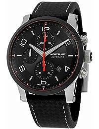 Montblanc Reloj de mujer automático 43mm correa de cuero color negro 112604