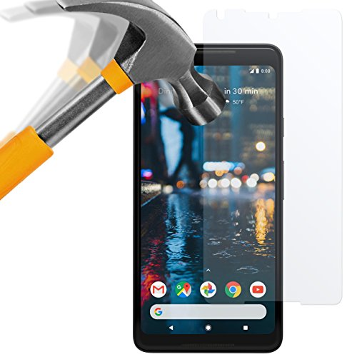 Google Pixel 2 XL Panzerglas Folie - 2x moodie Premium Glasfolie 9H Panzerglasfolie für Google Pixel 2 XL (2 Glas Folie)