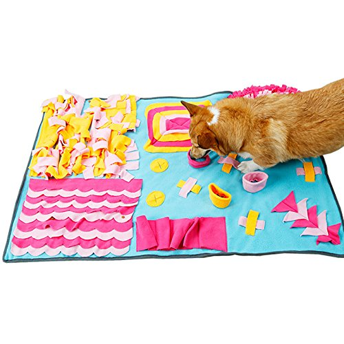 Hundetraining Mat Pet Nase Arbeit Decke Verbesserung Übung Kissen füttern (Arbeit übung)