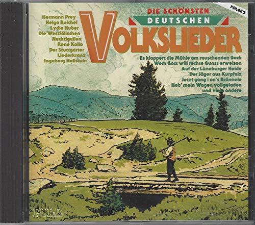 Die schönsten deutschen Volkslieder - Folge 2 (Es klappert die Mühle am rauschenden Bach, Wem Gott will rechte Gunst erweisen a.m.m.)