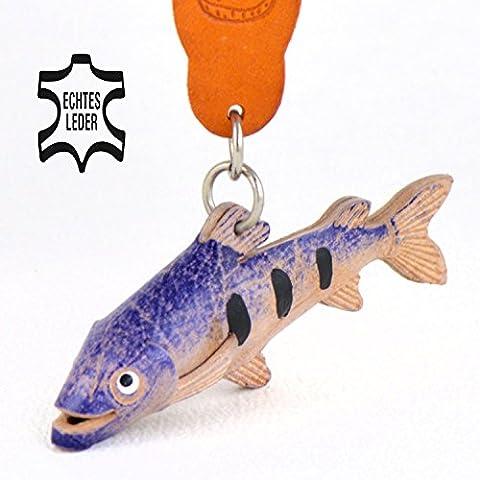 Forelle Sushi - Deko Schlüsselanhänger Figur aus Leder in der Kategorie Forellenteig / Forellenfutter von Monkimau in bunt - Dein bester Freund. Immer dabei! - 5x2x4cm LxBxH klein, jeweils 1 (Herr Unglaubliche Kostüm-t-shirt)