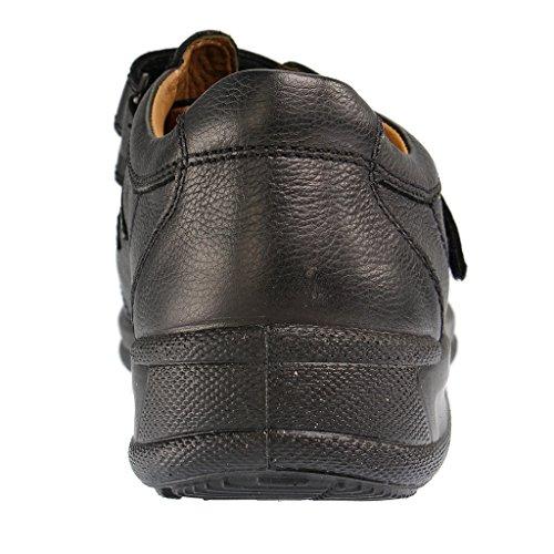 JOMOS - 419211 37 - Herren Slipper - Schwarz Schuhe in Übergrößen Schwarz