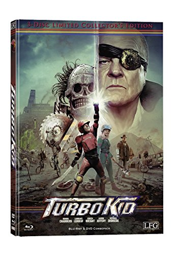 Turbo Kid  (+ DVD) (+ Bonus-DVD) [Blu-ray] [Limited Collector's Edition]