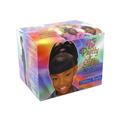 Relaxer / Glättungscreme PCJ Pretty-N-Silky No-Lye Conditioning Creme Relaxer Kit - REGULAR (Kit Conditioning Relaxer)