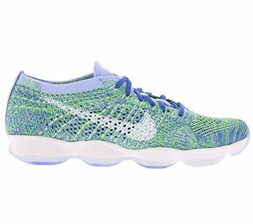 Nike Wmns Flyknit Zoom Agility, Scarpe da Tennis Donna Grün