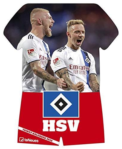 Hamburger SV 2020 Trikotkalender - 34x42cm - Fußballkalender - Wandkalender