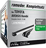 Rameder Komplettsatz, Dachträger Relingträger Kamei für Toyota AVENSIS Kombi (135345-04976-16)