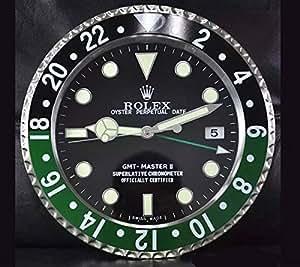 Gmt master rolex horloge murale lumineuse for Horloge lumineuse