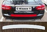 passgenau für Mercedes C-Klasse T-Modell S 205, ab 2014, Lackschutzfolie Ladekantenschutz transparent