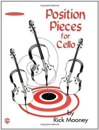 Position Pieces for Cello by Mooney, Rick (6/1/1997)