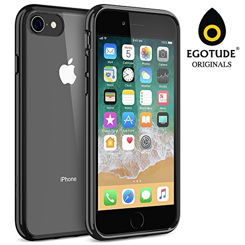 5eab017e20 iPhone 7 Case/iPhone 8 Case Egotude® Premium Shock Proof Hard Back Silicone  Bumper Cover Cases for Apple iPhone 7 & iPhone 8