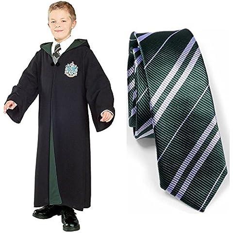 GenialES Disfraz de Uniforme y Corbata de Colegio para Halloween Carnaval Cosplay para Adultos Niños