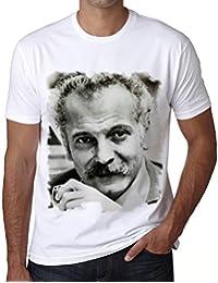 Georges Brassens, t shirt homme, t shirt pour homme, cadeau homme