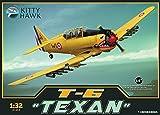 KTH32002 1:32 Kitty Hawk T-6 Texan [MODEL BUILDING KIT] by Kitty Hawk