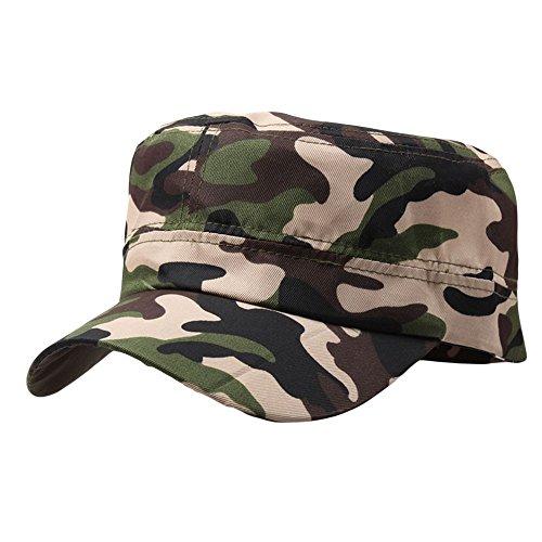 a063f8a62a29 Trada Baseball Cap, Unisex Outdoor Camo Tactical Plain Vintage Armee  Military Cadet Stil Cap Hut