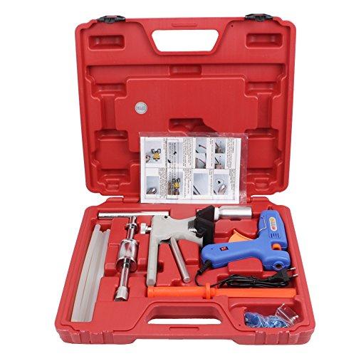 Preisvergleich Produktbild Dellen Reparatur Set Dellenlifter Ausbeulwerkzeug Gleithammer Dellenentfernung