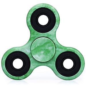 Ansbro Fidget Spinner, Best Tri-Spinner Finger Spielzeug - Beryl, Super Haltbare Hand Spinner Nicht 3D-Printed Pefekt für Autismus und Zeit-Töten