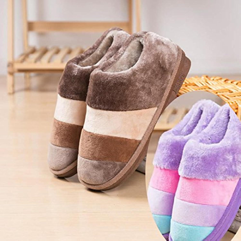 dbdb9d9ceb58c8 laxba laxba laxba femmes hommes indoor antidérapants pantoufle chaussures  hommes est café la fille Violet 40 / 41 44 / 45 b07b8bh9b4 parent |  Merveilleux ...