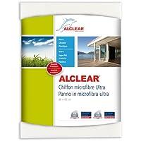 ALCLEAR 950001 950001IF Panno per Finestrini in Microfibra Ultra, 40 x 45 cm, Bianco - ukpricecomparsion.eu