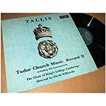 tallis : tudor church music record 2