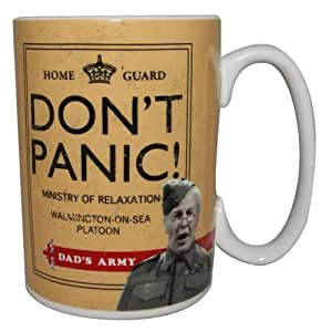 Official Dad's Army Don't Panic Boxed Mug, Cpl. Jones