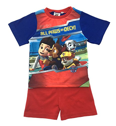 Nickelodeon Paw Patrol Kids Short Pyjamas Pjs