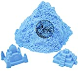 #10: AsianHobbyCrafts Kinetic Sand for Sand Modeling, Kids Activities, DIY Crafts : 980g : Blue