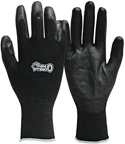 Fett Monkey 25054-26x-large Gorilla Grip Handschuhe-Schwarz