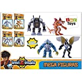 Jugueteriaonline - Mega figuras invizimals, surtido: modelos/colores aleatorios