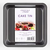 Everyday Baking Cake Tin, tinplate, Black, 22cm x 22cm x 5cm