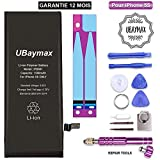 UBaymax Batterie Compatible iPhone 5s Haute Capacité 1560 mAh Kit Batterie de...